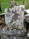Lichen-covered stone