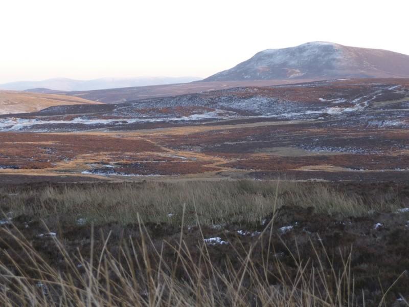 Migneint moors in winter 1