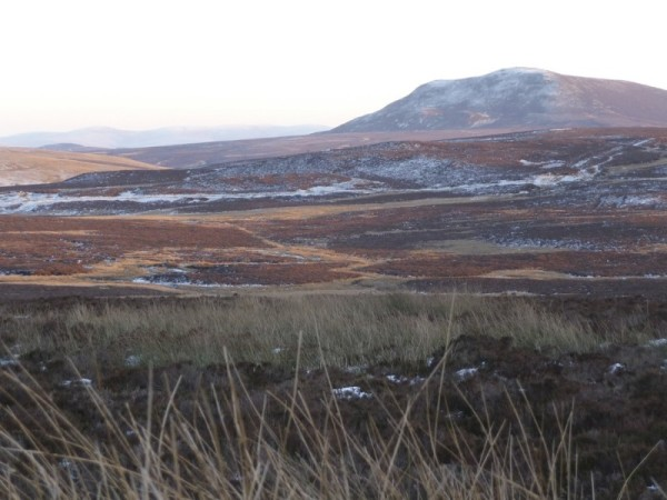 Migneint moors in winter 1