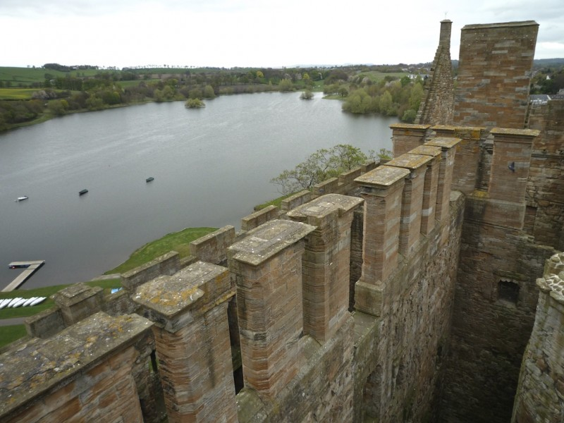View from Queen Margaret's Bower