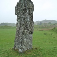 Clach na Carraig or Diarmid's Pillar