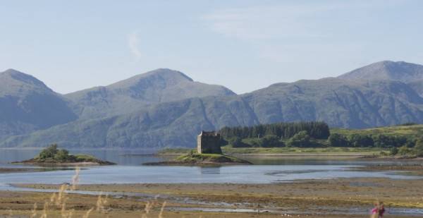 Castle Stalker from Port Appin
