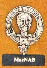 The crest of Clan MacNab; by A.C. McKerracher via Wikimedia Commons