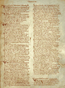 Domesday Book:  Warwickshire (Wikimedia)