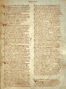 Domesday Book:  Warwickshire (Wikimedia)