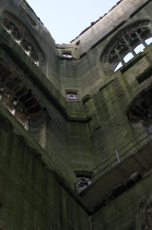 Blind doorways in Huby's Tower