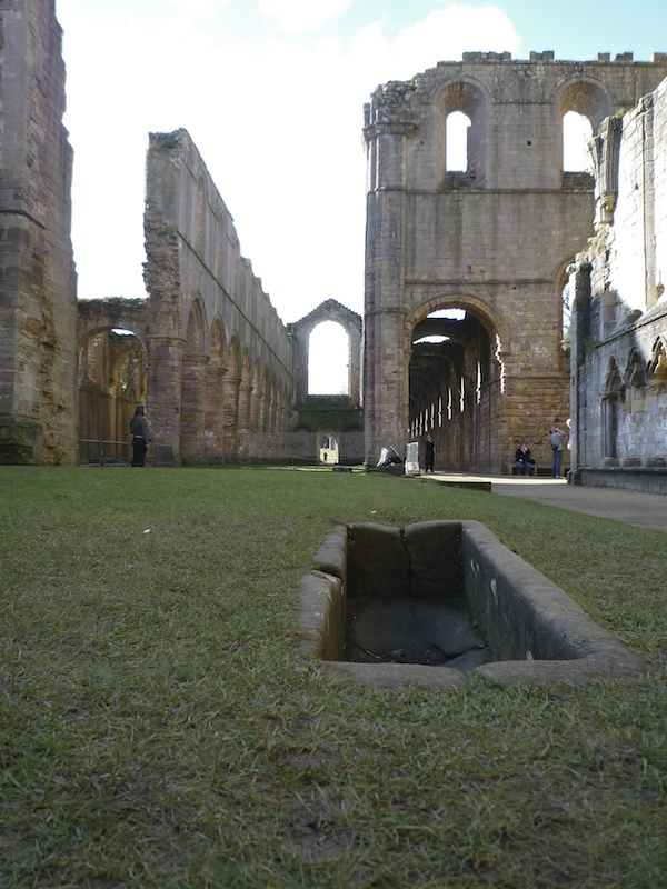 Grave in Abbey church