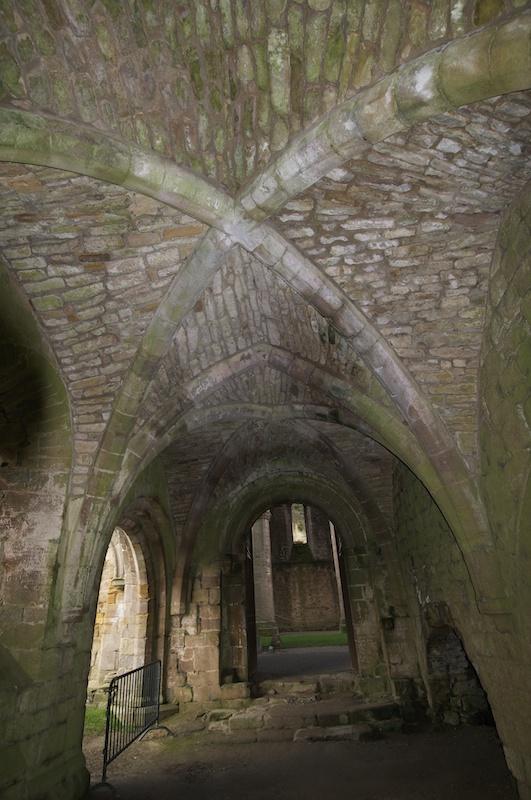 Roof of cellarium