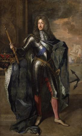 Portrait of James II (and VII of Scotland) by Sir Godfrey Kneller