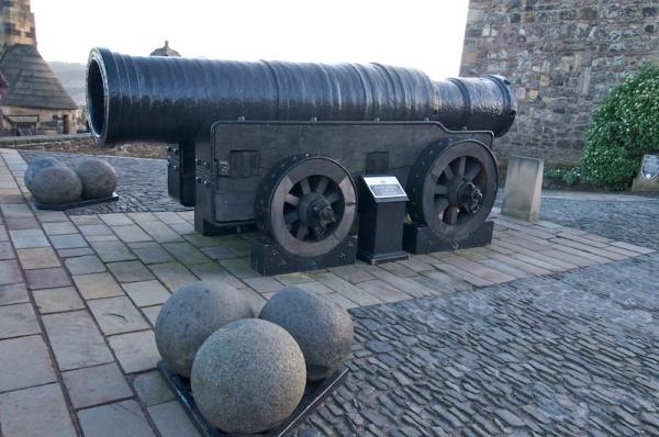 Mons Meg in Edinburgh Castle