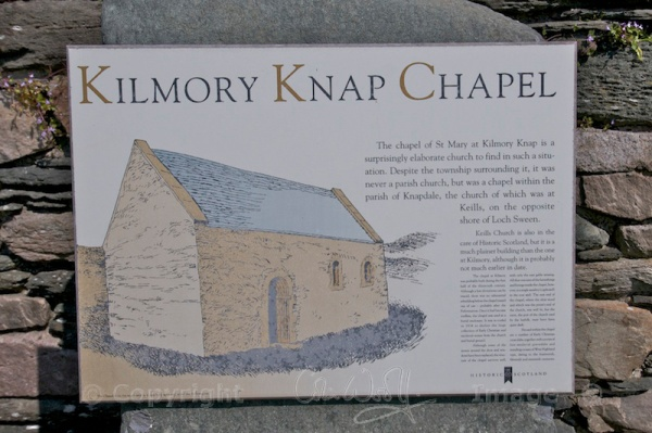 Illustration showing how the original chapel would have looked