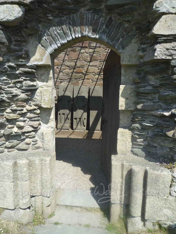 Kilmory Knap Chapel - doorway