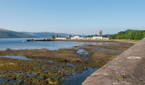 Inveraray, from the bridge