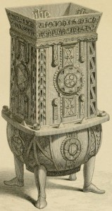 The Dunvegan Cup, engraving by Sir Daniel Wilson c1851