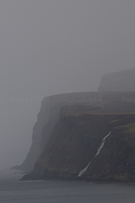 Rainstorm over Dunvegan head