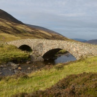 Fraser's Bridge in Glen Clunie