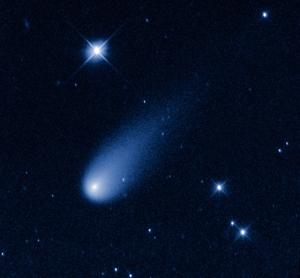 Comet ISON photographed in May, by NASA, ESA, and the Hubble Heritage Team (STScI/AURA) [Public domain], via Wikimedia Commons