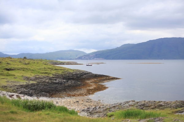 Lismore's coastline