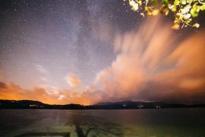 Windermere, night-time by Chris Sansom (Nov 2013)