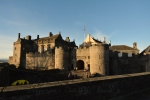Stirling Castle, pride of the Stewart kings, overlooks the battlefields of Bannockburn and Stirling Bridge