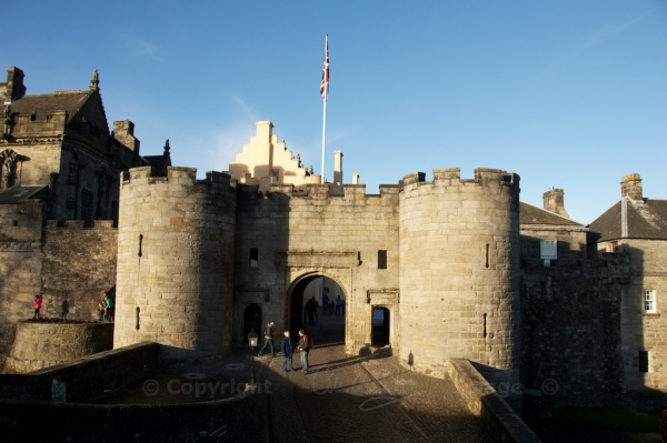Stirling Castle entrance gate