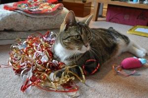 I wonder if catnip mouse will tell Santa I bit him?