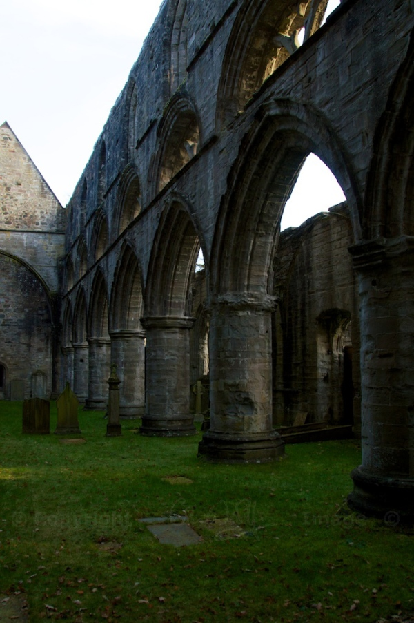 Ruined nave