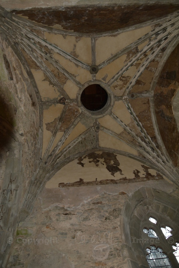 Roof of chamber below the bell tower