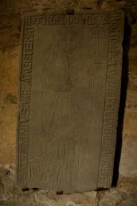 Grave stone of Alexander Douglas (d.1547)