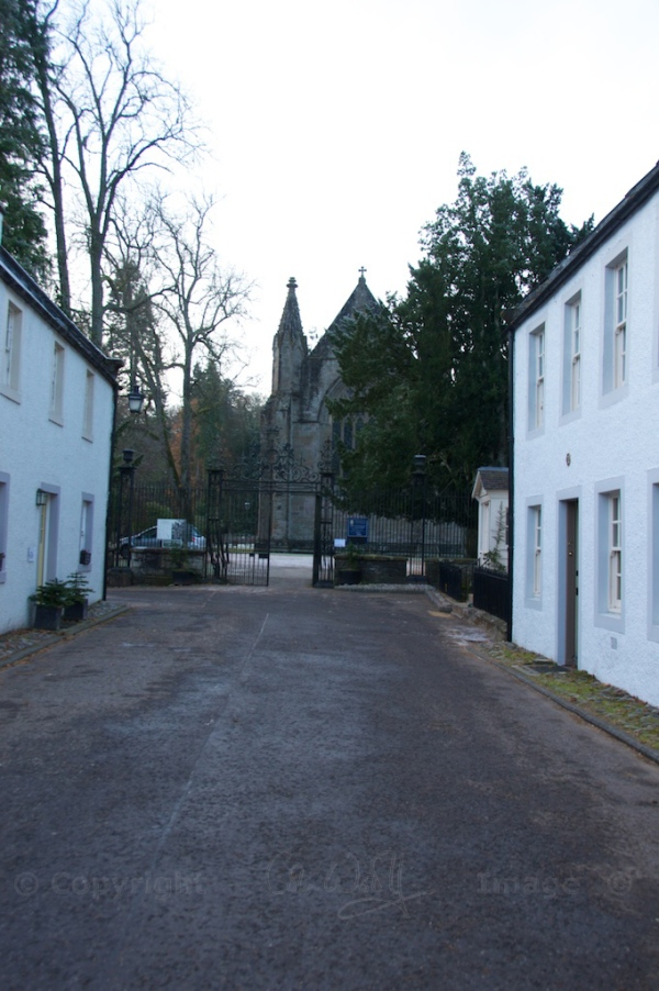 The Cathedral Close and gateway