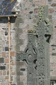 Crosses outside the Abbey