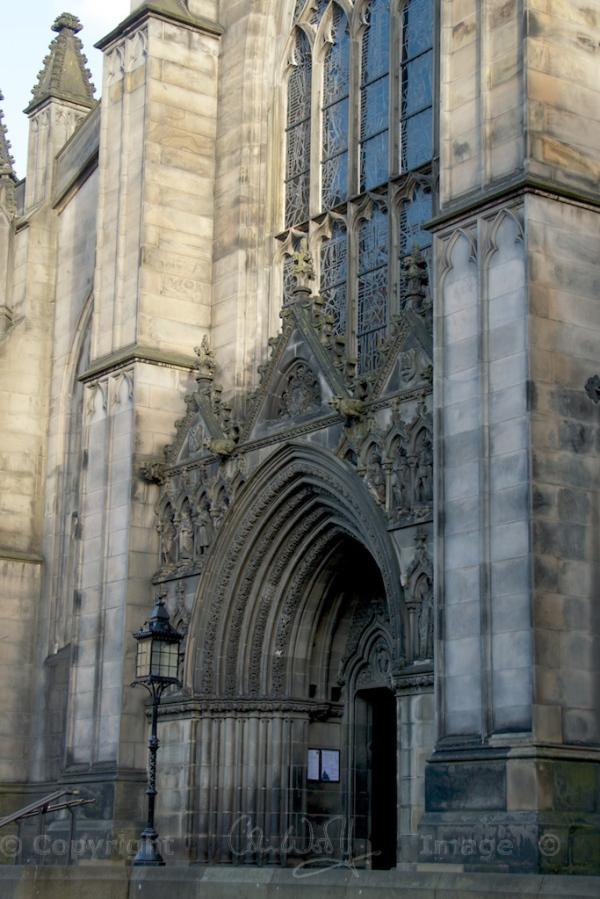 The west entrance