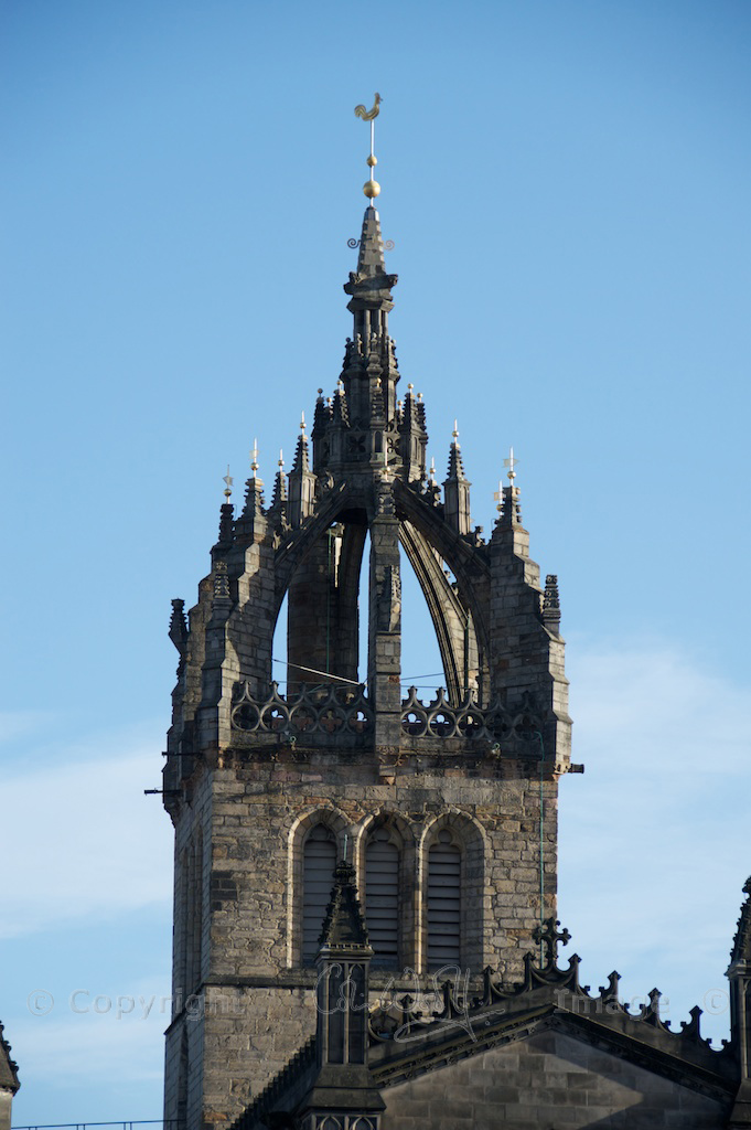 Spire of St Giles' Cathedral