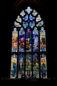 The magnificent north window by Douglas Strachan