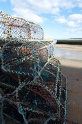 Lobster pots at St Andrews