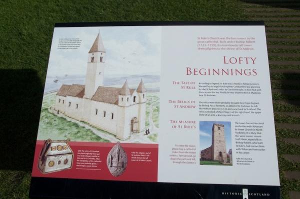 Historic Scotland - St Rule's Church