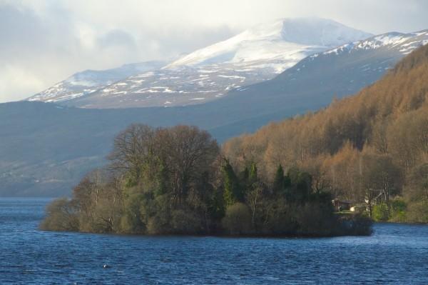 Priory Island, Loch Tay
