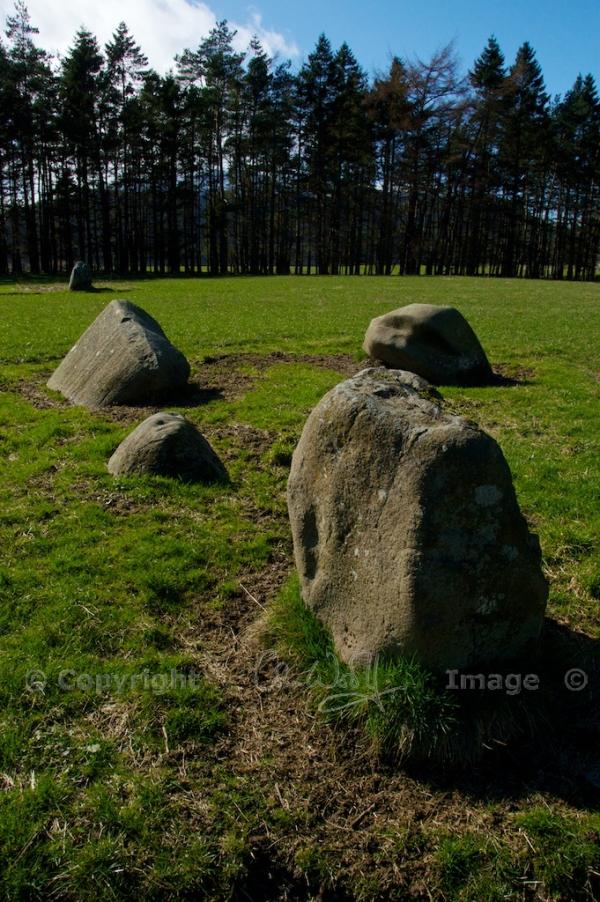 Fortingall stone circle 9