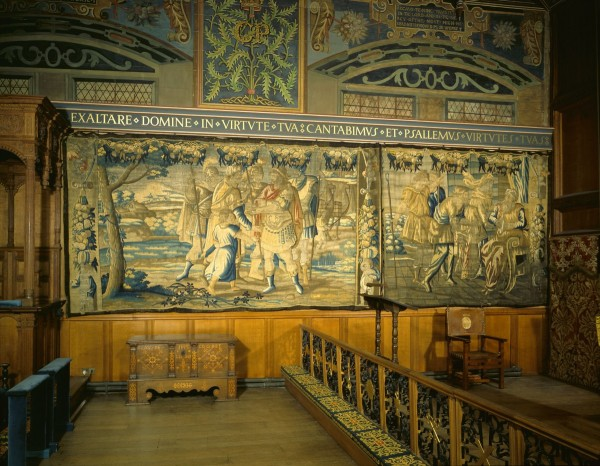 Tapestry in the Chapel Royal © National Trust for Scotland