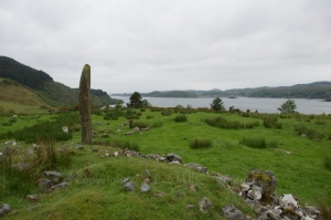 Kintraw standing stone