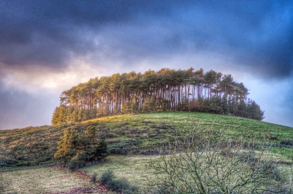 Bromlow Callow in Shropshire. Photo courtesy The Biggest Little Hills www.thebiggestlittlehills.com