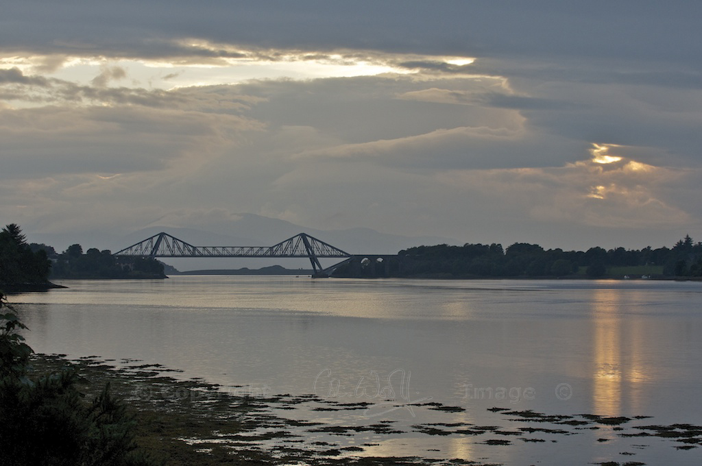 Loch Etive and the Connel Bridge