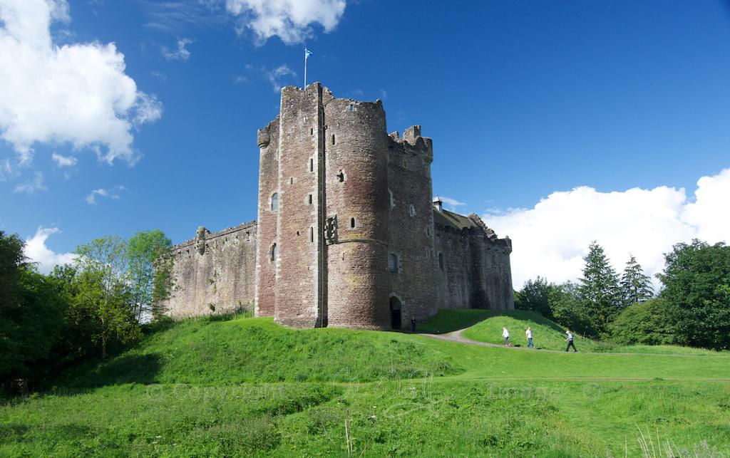Doune Castle Seat Of Power The Hazel Tree