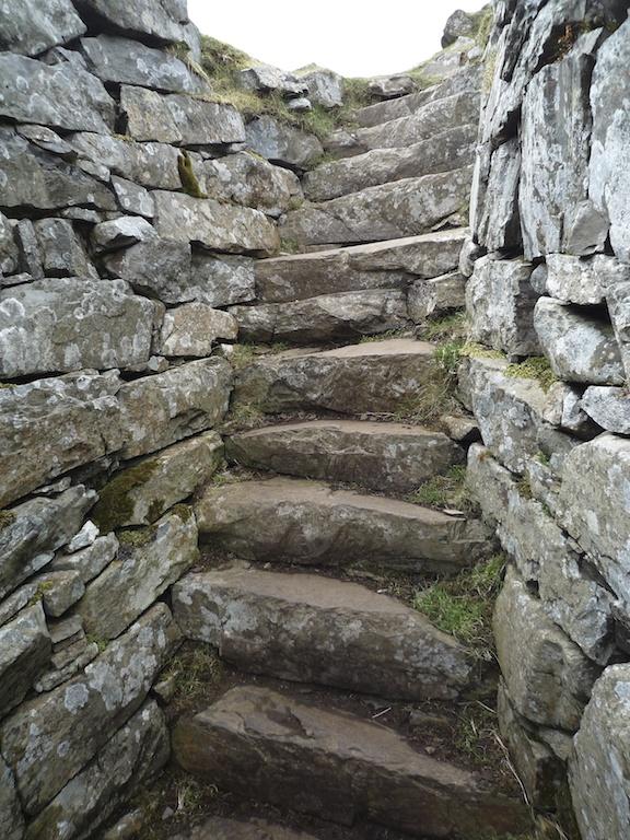 Stairs in Dun Beag