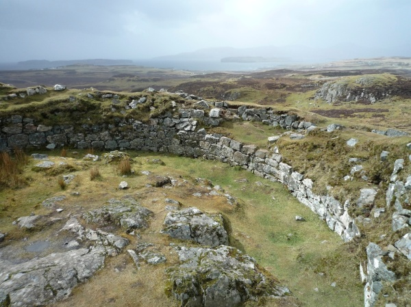 View from Dun Beag