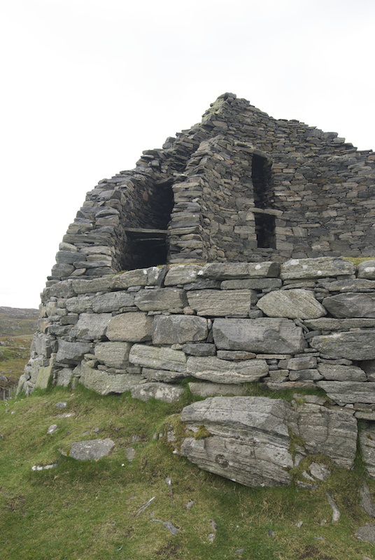 Walls of Dun Carloway