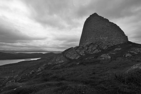Dun Carloway BW (2)
