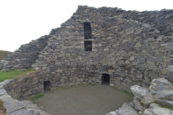 Inside Dun Carloway