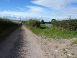 Track near Uckington, Shropshire, by Richard Law via Wikimedia