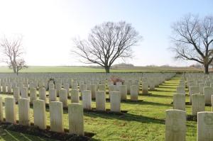 Warlencourt British Cemetery © Duncan Barrett